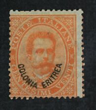 CKStamps: Italy Stamps Collection Eritrea Scott#5 Mint H OG