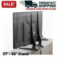 """Universal TV Stand Pedestal Mount Base LCD Flat Screen Table Top 22"""" to 65"""""""