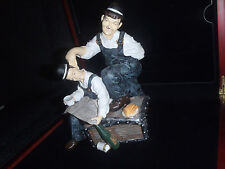 Extremely Rare! Laurel & Hardy Piggy Bank Figurine Statue