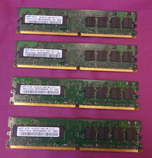 4GB Kit Samsung M378T2863RZS-CF7 Non-ECC PC2-6400U DDR2 240-Pin Desktop Memory