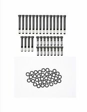 Chevy 283 305 327 350 400 Head Bolts w/ Washers Set Kit (Fits: Chevrolet)