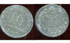 ALLEMAGNE GERMANY 10 pfennig 1918  ( it )
