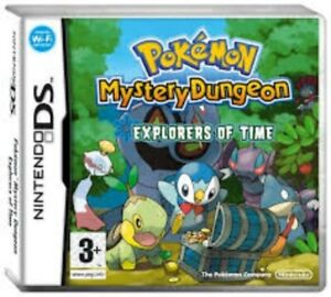 Pokemon Mystery Dungeon Explorers Of Time - Nintendo DS. Complete with manual.