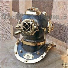 US NAVY MARK IV BRASS COPPER SCUBA DEEP SEA SCA DIVERS DIVING HELMET DECOR GIFT