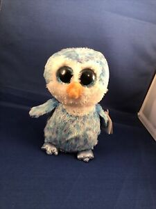 """TY BEANIE BOOS - ICE CUBE the 6"""" PENGUIN - with TAG"""