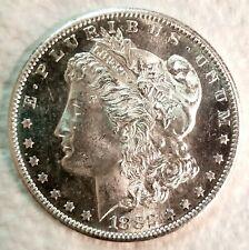 1882-S Morgan Dollar Blazing White PL ++  / DMPL Cameo Contrast