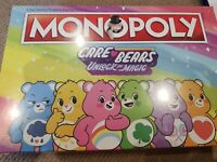 Classic care bears unlock the magic monopoly hasbro licensed carebear carebears