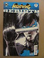 Nightwing Rebirth #1 DC Comics 2016 One Shot 9.6 Near Mint+