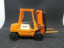 """Vintage Toyota Forklift - Yonezawa Toys - approx 6 x 2 x 4"""""""