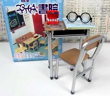 Re-ment size - Mimo School table,chair and accessories # 3
