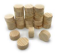 25 Stück Konusplättchen aus Kiefer Querholzplättchen Astlochdübel 40 x 10 mm
