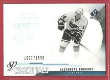 2010-11 Sp Authentic Hockey Essentials - #197 - Alexandre Burrows - Canucks