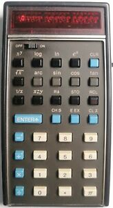 Original HP 35 technisch-wissenschaftlicher Taschenrechner 1 Jahr Gewährleistung
