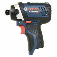 "Bosch PS41 12V 1/4"" Hex Lithium Ion Impact Driver Bare Tool uses BAT412 BAT414"