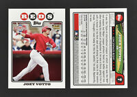 (10) 2008 Topps NBCD Joey Votto #7 Reds RC Rookie Card Lot Mint