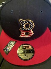 Boston Red Sox 2019 4th of Juy Stars and Stripes NEW Era 59FIFTY Hat 7 1/2 NEW