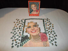 *For Parts* 350 Piece Fairco Puzzle *Not Complete* A Blend of Beauty Woman 1535