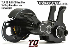 Exotek Racing TLR 22 3.0 LCG Gear Box Set Laydown Gearbox Exo1650 Fast Ship