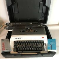 Olympia Model B12 Japan Manual and Portable Typewriter w/ Case 38123860
