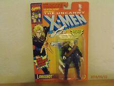 "X-Men""Longshot"" 5""in.1993 Action Figure Knife Throwing Action! Marvel Comics!"