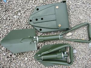 KLAPPSPATEN BW Militär Bundeswehr Armee  Spaten Schaufel Hacke