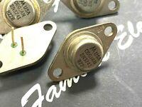 1pcs - MOTOROLA CGGJAN 2N3741 PNP 25W 80V 10A Power BJT Transistor - 'Genuine'