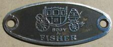 GM FISHER BODY EMBLEM Buick Cadillac Chevrolet Oldsmobile Pontiac #H153