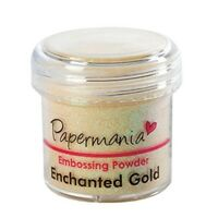 Docrafts 1 Oz Embossing Powder, Enchanted Gold
