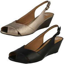 Clarks Ladies Sling Back Sandals Brielle Kae