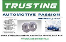 KIT DISCHI FRENO ANTERIORI + PASTIGLIE COMLINE FIAT GRANDE PUNTO 1.3MJET 90cv