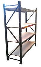 Medium Duty Shelving 1.8m Wide x 2m High x 600mm Deep - 1800kg - 400kg per level