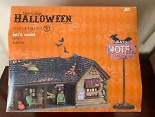 Department 56 Snow Village Halloween Nib Bat's Motel—Retired