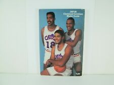 Cleveland Cavaliers Media Guide 1987-88