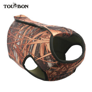 Tourbon Pet Vest Coat Hunting Dog Camo Cloth Harness Protector for Outdoor