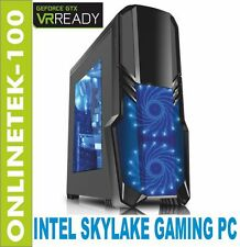 INTEL SKYLAKE i7 6700K GTX 1060 16GB SSD Computer Gaming windows 10 PC VR READY