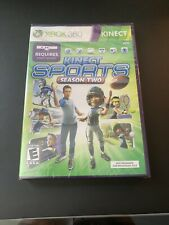 Kinect Sports Season Two 2 Microsoft Xbox 360 Brand New Factory Sealed