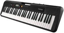 Casio Keyboard CT-S200BK Tastatur 61 Standardtasten Begleitautomatik schwarz