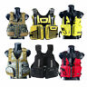 Adult Adjustable Marine Reflective Sailing Kayak Fly Fishing Vest Life Jacket BM