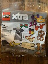 Lego Xtra 40465 Essen Lebensmittel Baguette Bananen Hot-Dog Äpfel Brezeln NEU