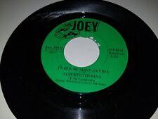 "ALBERTO TIJERINA Carolina / Pa Que Me Sirve La Vida JOEY 164 45 VINYL 7"" TEJANO"