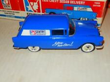 VINTAGE DIECAST- SENTRY HARDWARE- 1955 CHEVY DELIVERY SEDAN - 1/25TH - BOXED J81
