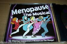 Menopause NM CD The Musical Cast No scratches