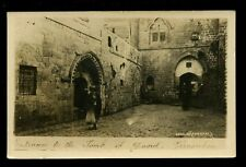 JERUSALEM Palestine Israel Entrance to the tomb of David Beagles RP PPC