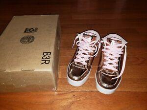 Skechers Kids Energy Lights-Dance-N-Dazzle Sneaker,Rose Gold  4.5 M Big Kid
