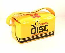 Vintage Kodak Disc Cameras and Film Advertising Bag A-1 Condition