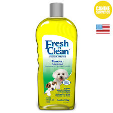 Lambert Kay Fresh 'n Clean Tearless Dog Shampoo Light Vanilla Scent, 18-Ounce