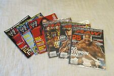 6 Assorted WW Raw, WWF Magazines - November 2002 - May 2006