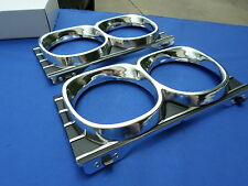 NEW 1967 Impala BelAir Caprice Headlamp Bezels GM Restoration OER 3885963 Pair