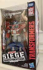 Transformers War for Cybertron Siege Leader Galaxy Upgrade Optimus Prime