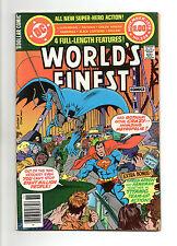 World's Finest Comics No 259 Nov 1979 (VFN) DC, 68 Page Dollar Comic
